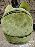 Новый Женский рюкзак искусств кожа с Мех качество городской спортивный стильный (только ОПТ) , фото 1