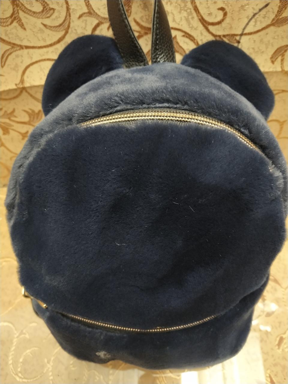 Новый Женский рюкзак искусств кожа с Мех качество городской спортивный стильный (только ОПТ)