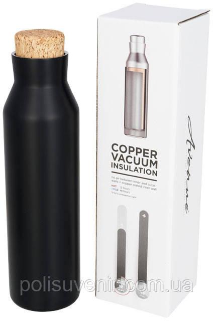 Норсовая мідна вакуумна ізольована пляшка з пробкою