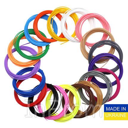 Набор пластика ABS для 3D ручек 480 метров (16 цветов по 30 метров), фото 2