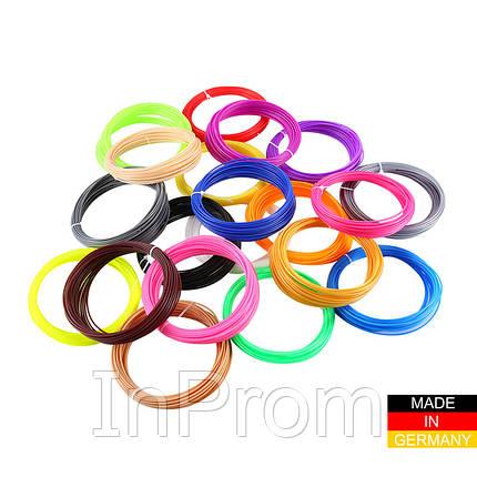 Набор пластика ABS+ для 3D ручек 240 метров (16 цветов по 15 метров), фото 2