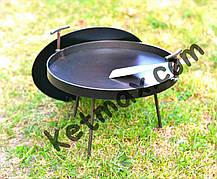 Сковорода с крышкой 40 см в диаметре с крышкой