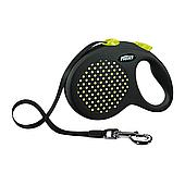 Поводок-рулетка Flexi с лентой «Design» L 5 м / 50 кг (жёлтая, зеленая, розовая, синяя)