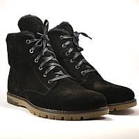 Замшевые ботинки мужские зимние черные Rosso Avangard  Whisper Vel Black Med, фото 1