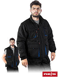 Куртка робоча утеплена Reis Польща (зимовий спецодяг) CZAPLA2 BN