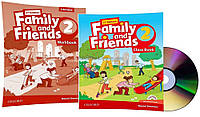 Английский язык / Family & Friends / Class+Workbook. Учебник+Тетрадь (комплект), 2 / Oxford