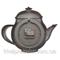 """Настенные часы """"Чайник"""" (бронза, золото, коричневый, белый), фото 3"""