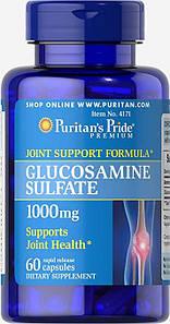 Хондропротектор Puritan's Pride Glucosamine Sulfate 1000 mg 60 caps
