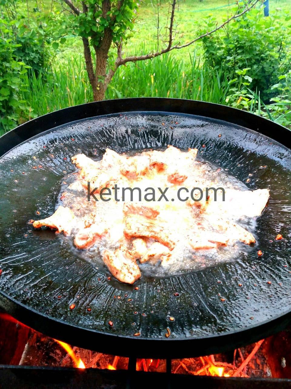 Сковорода из диска 50 см без крышки