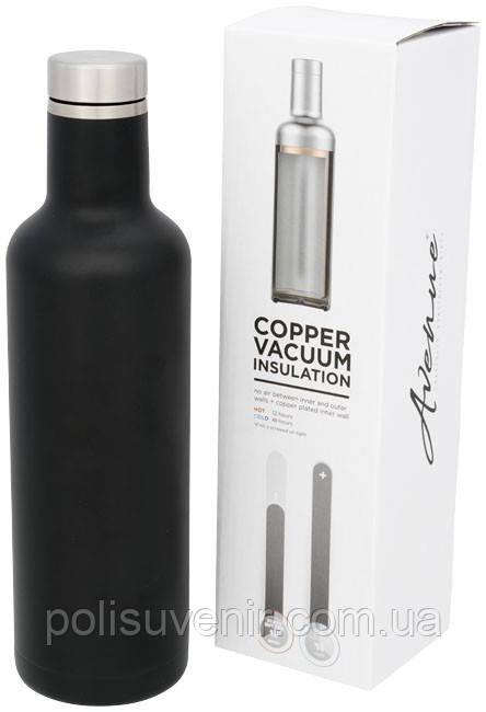 Мідна вакуумна ізольована пляшка Пінто 750 мл