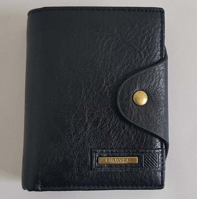 фотография черный мужской кошелек
