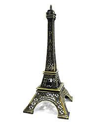 Эйфелева башня металлическая 15 см