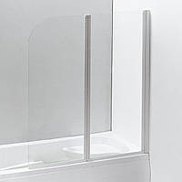 Шторка для ванны Eger 599-121W профиль белый