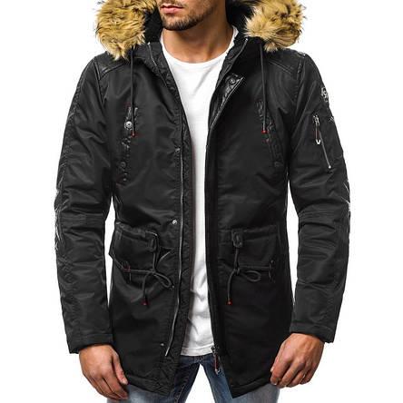 Куртка мужская зимняя (черный), фото 2