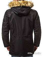 Куртка мужская зимняя (черный), фото 3