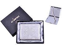 Портсигар классический на 20 сигарет в подарочной коробке №4375-1