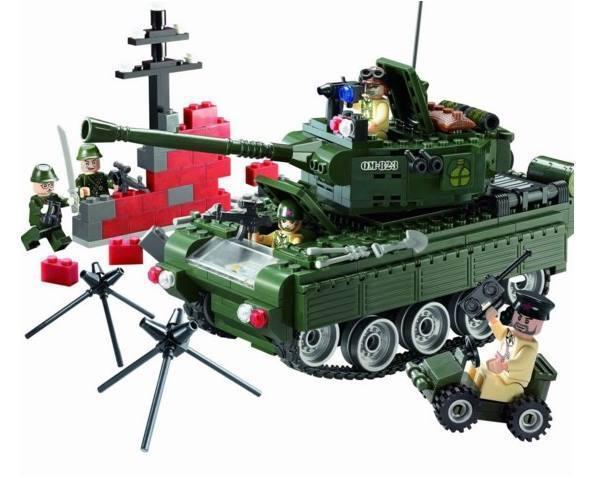 Конструктор BRICK 823 Tanks дитячий набір для конструювання і моделювання 466 дет. (SUN2762)