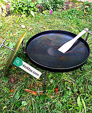 Комплект 40 см Сковорода с крышкой и чехлом, фото 2