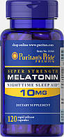 Puritan's Pride Melatonin 10 mg 120 caps, Мелатонин 10 мг 120 капсул