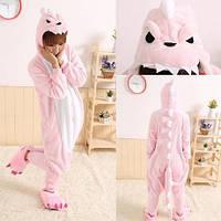 Пижама Кигуруми розовый дракон