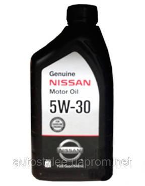 Масло моторное Nissan motor oil 5W-30 (999PK-005W30N) 0,946 л.