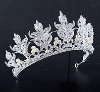 Свадебные аксессуары - высокие короны и тиары для невест. Хит продаж от Бижутерии оптом RRR. 96