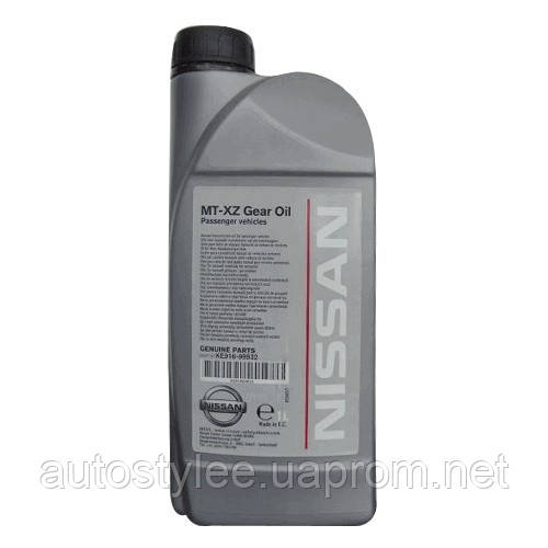 Масло трансмиссионное Nissan MT-XZ Gear Oil Passenger Vehicles 75W-80 (KE916-99932) 1 л.