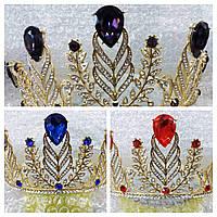 Большие высокие короны из страз циркония оптом 237