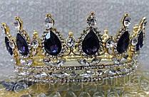 205 Диадемы, короны с кристаллами. Свадебные аксессуары оптом в Украине.