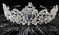 207 Изумительные диадемы с кристаллами. Свадебные украшения оптом в Украине.