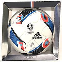 Мяч футбольный оригинальный adidas UEFA EURO 2016 OMB артикул AC5415 FIFA  Approved 48e3b8328e419