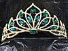 247 Свадебные аксессуары, диадемы - короны. Красные и зеленые свадебные короны. , фото 2