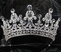 250 Царская свадебная корона. Свадебные аксессуары оптом.