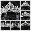 250 Царская свадебная корона. Свадебные аксессуары оптом. , фото 6