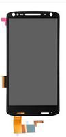 Дисплей (экран) для Motorola XT1580 Moto X Force/XT1581/XT1585 + тачскрин, черный, оригинал