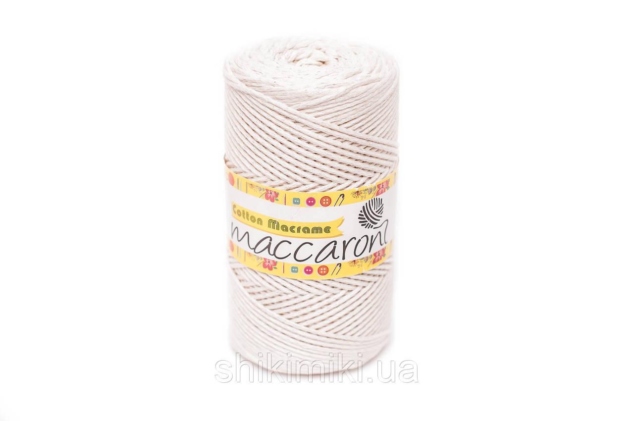 Трикотажный шнур  Cotton Macrame, цвет молочный