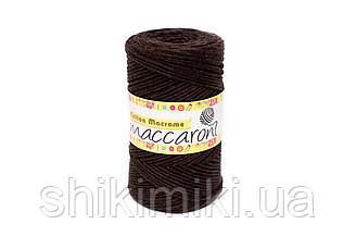 Эко Шнур Cotton Macrame, цвет Шоколадный