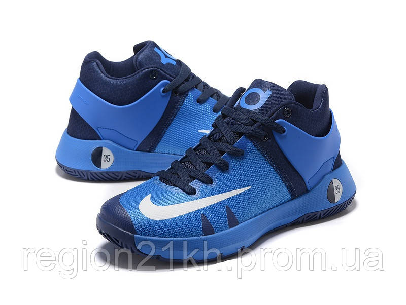 Баскетбольные кроссовки Nike KD Trey 5 IV Photo Blue Black