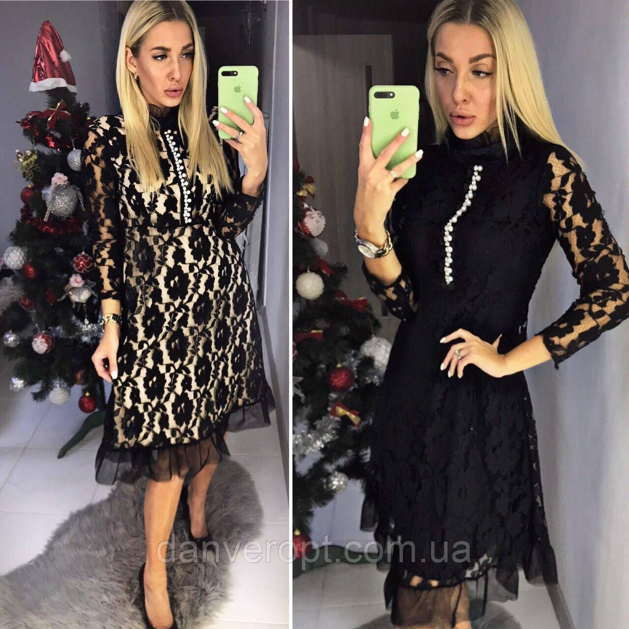 235c9aeee95 Платье женское модное размер M-L купить оптом со склада 7км Одесса ...