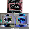 Гірлянда МАТОВА 300 LED 5mm на чорному проводі, синій, фото 2