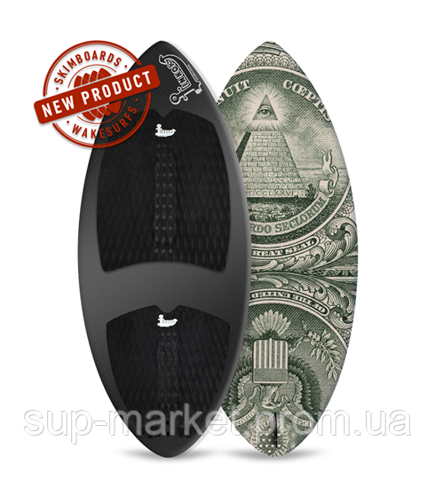 Вейксёрф Linkor Skimboards Era Carbon, L/55