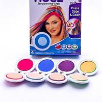 Мелки для волос цветные Hot Huez