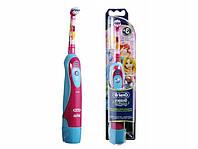 Детская электрическая зубная щётка Oral-B braun, принцесса