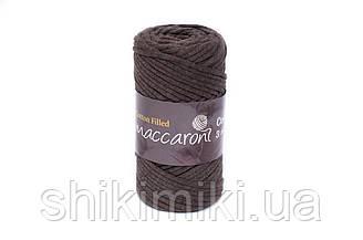 Трикотажный хлопковый шнур Cotton Filled 3 мм, цвет Коричневый