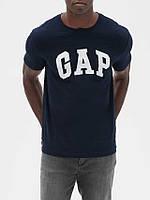 Футболка мужская синяя GAP L XL Оригинал футболки мужские с логотипом бренд