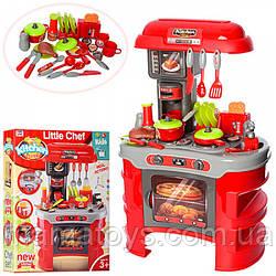 Детская игровая Кухня 008-908 А свет, звук, тостер, кофеварка.