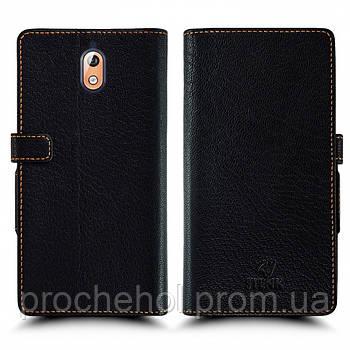 Чехол книжка Stenk Wallet для Nokia 3.1 Чёрный