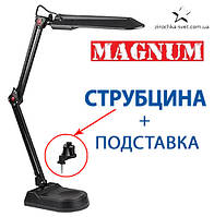 Настольная лампа на струбцине черная MAGNUM NL011