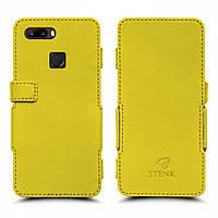 Чехол книжка Stenk Prime для ZTE Nubia Z18 mini Желтый