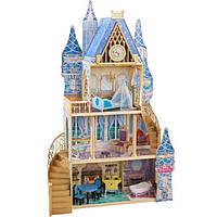 """Великий дерев'яний ляльковий """"Замок Попелюшки"""" від KidKraft 65400"""